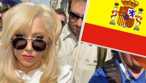 Концерт Леди ГаГа Lady GaGa  12 декабря 2010 года 12-12-2010 начало в 21 час  21:00 в Мадриде Lady GaGa Spain