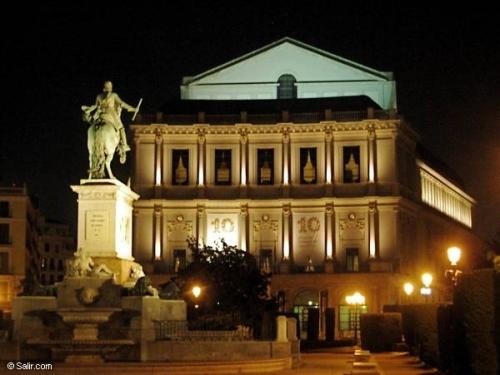 Королевский Оперный Театр Teatro Real или Опера де Мадрид,  ópera de Madrid