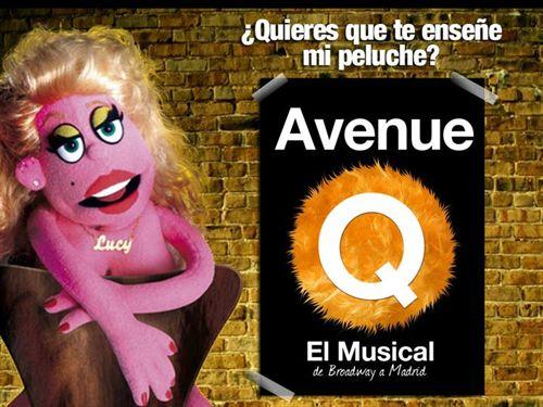 Кукольный Мьюзикл Авеню Avenue в Театре Нуэво Аполо Teatro Nuevo Apolo в Мадриде