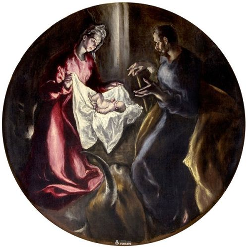 Картина Эль Греко El Greco Навидад Navidad Рождество Христово