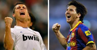 Кристиано Рональдо и Лео Месси главные бомбардиры Европы Messi CR7