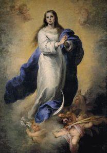 Картина Бартоломе Мурильо Непорочное зачатие Девы Марии Murillo Inmaculada Concepción