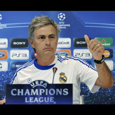Удачи Моуриньо и Реал Мадриду в Лиге Чемпионов !!!