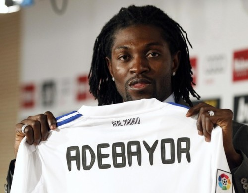 Новый центрфорвард Реал Мадрида Адебайор Adebayor