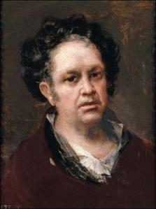 Музей Прадо в Мадриде Авто Портрет Гойя Холст, Масло 46х35 см 1815 год  Autorretrato Goya 1815