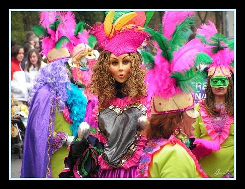 Карнавалы в Мадриде и Испании в 2011 году начинаются 3 марта Сarnaval Madrid