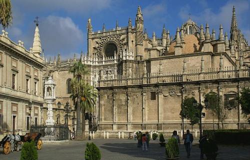 Кафедральный Собор Севилья. Экскурсии в Севилье . Услуги гида  Севилья Испания Catedral de Sevilla