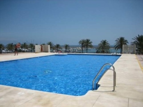 Апартаменты Фуэнхирола Коста дель Соль Малага с видом на море Fuengirola Apartment