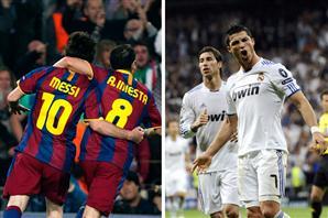 Полуфинал Лиги Чемпионов Барса - Реал Мадрид Barca-Real Madrid Champions