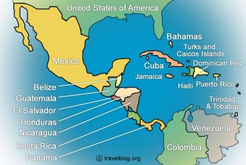 Развитие Туризма в Центальной Америке Central America Caribbean