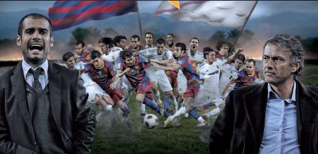 Эль Класико El Clasico Real-Barca. Битва Титанов Моуриньо- Гуардиола
