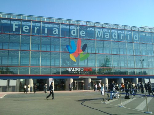"""12-15 мая 2011 года выставка в Мадриде , Испания  """"Научно-технические и инновационные достижения России"""". Ифема Ifema  Ферия де Мадрид Feria de Madrid"""