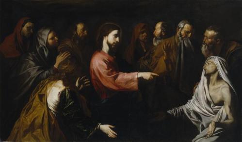 Воскресение Святого Лазаря . Хосе де Рибера 1616 год Resurreccion Lazaro Jose Ribera Выставка Музей Прадо