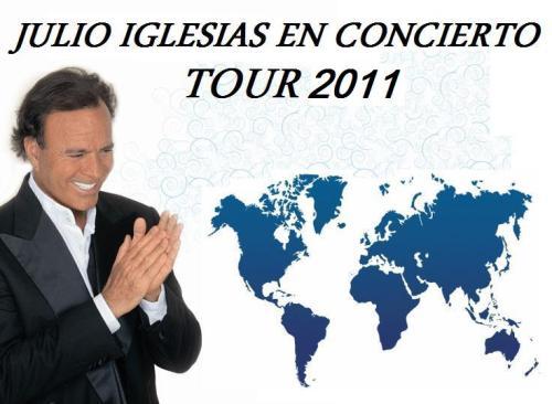 Билеты на концерты Хулио Иглесиаса Julio Iglesias  в Мадриде и Барселоне 18,19,22 мая  2011 года