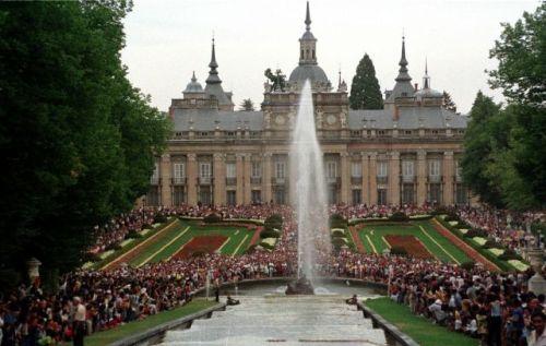 Музей Королевский Дворец Ла Гранха де Сан Ильдефонсо  Palacio de la Granja de San Ildefonsopalacio