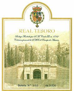 Вино под маркой Реал Тесоро Real Tesoro