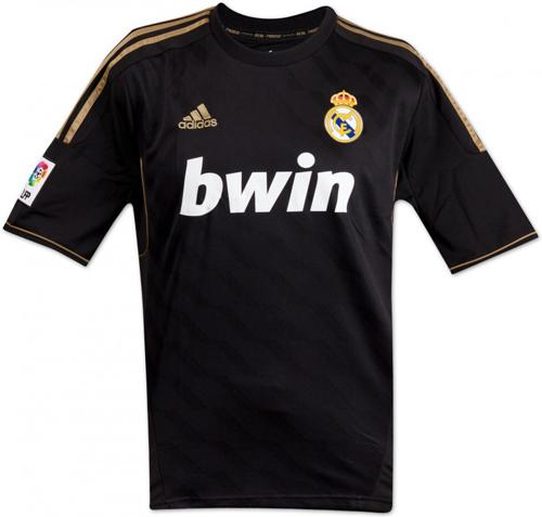 Новая форма Реал Мадрид  на сезон 2011-2012 темная футболка Real Madrid negro