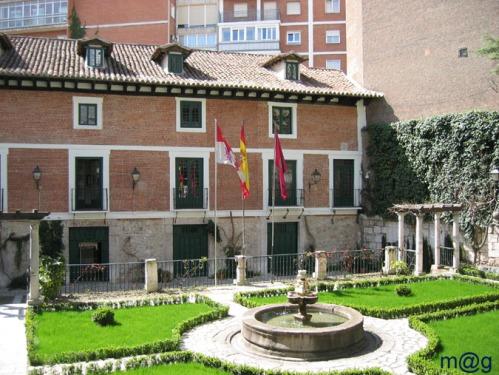 Дом Музей  Мигеля Сервантеса в городе Вальядолид Valladolid Casa de Cervantes