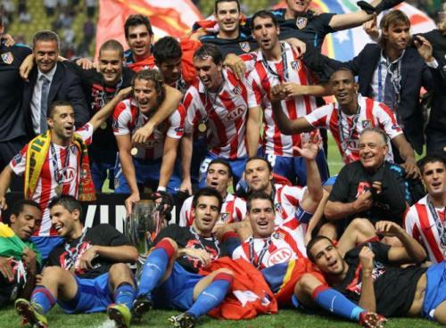Атлетико Мадрид прошлогодний обладатель Супер Кубка Европы UEFA Super Cup 2009-2010
