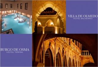 Термальные отели, эно отели с винотерапией   в долине Рибера дель Дуэро Ribera del Duero
