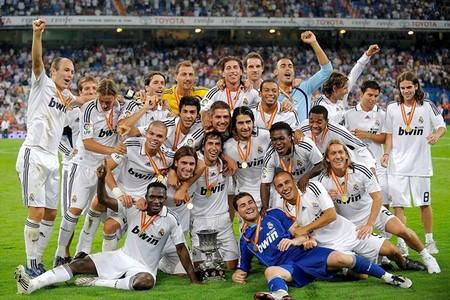 Реал Мадрид обладатель Супер Кубка Испании 2008 Real Madrid Supercopa 2008