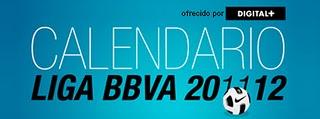 Календарь - Расписание Лиги Liga BBVA  сезона 2011-2012 годов в Испании