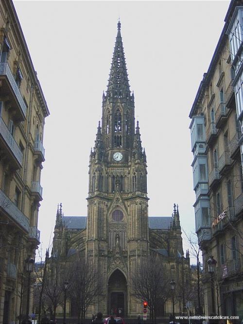 Кафедральный собор дель Буэн Пастор в Сан Себастьяне Catedral del Buen Pastor de San Sebastián