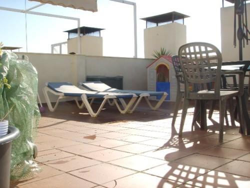 Апартаменты пентхаус с террасой 70 м2 Михас Коста Mijas Costa с видом на море. Коста дель Соль Испания