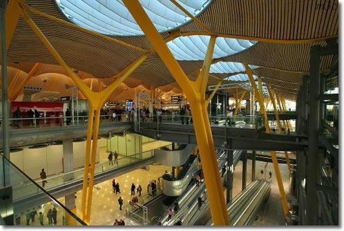 Аэропорт столицы Испании Мадрида, Барахас Мадрид Barajas Madrid увеличил поток пассажиров на 3%