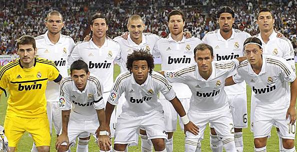 Полный , основной состав футбольного клуба Реал Мадрид Real Madrid сезон 2011-2012 - Фото и номера футболистов.