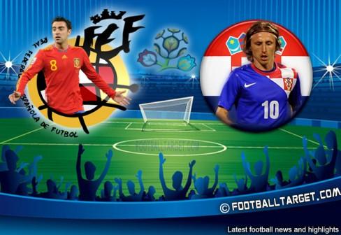 Евро 2012, отборочный турнир , группа С Испания  –  Хорватия  Видео Голы Счет