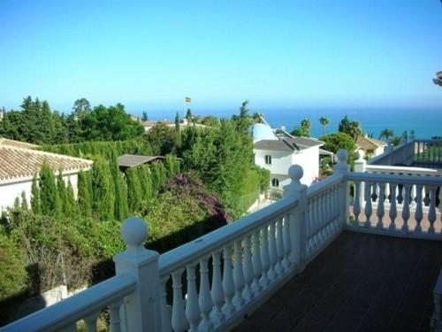 Вилла с видом на море Бенальмадена Benalmadena Коста дель Соль провинция Малага, общая площадь 310 м2
