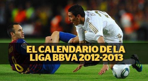 Чемпионат Испании по футболу 2012-2013, Лига Liga BBVA Расписание Календарь Матчей