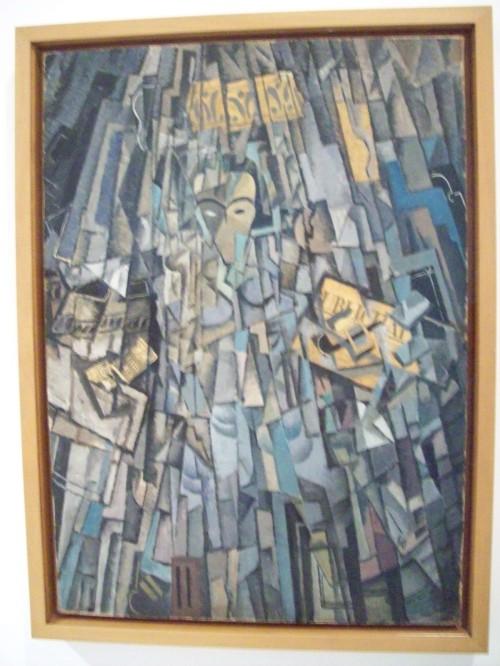 Автопортрет Кубиста Autorretrato cubista 1923 год Сальвадор Дали Музей Королевы Софии Мадрид