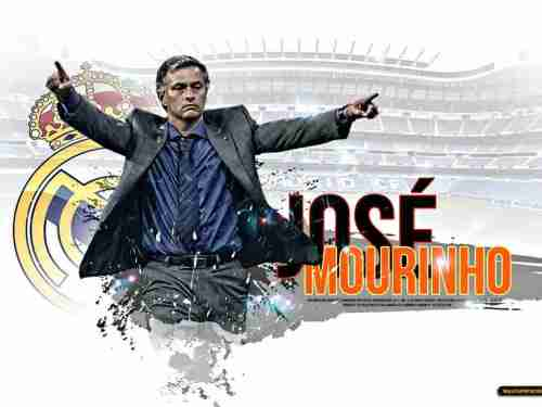Главный тренер  Реала Хосе Моуриньо (Жозе Моуринью ) José Mário dos Santos Mourinho Félix  или просто МОУ MOU