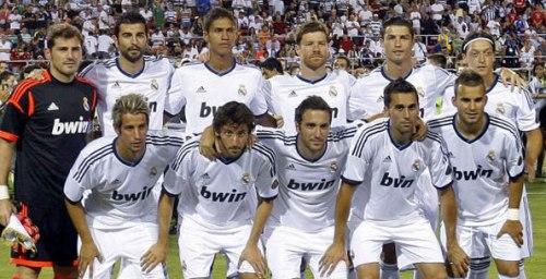 Основной состав футбольного клуба Реал Мадрид Real Madrid сезон 2012-2013