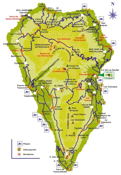 Туры Канарские Острова Испания - Туры на Канарские Острова, остров Ла Пальма La Palma 7 дней