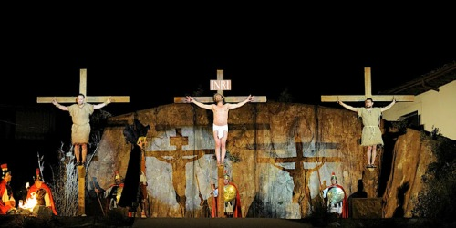 Праздник Страсти Господни Pasión de Cristo,  Pasión de Chinchón в городе Чинчон