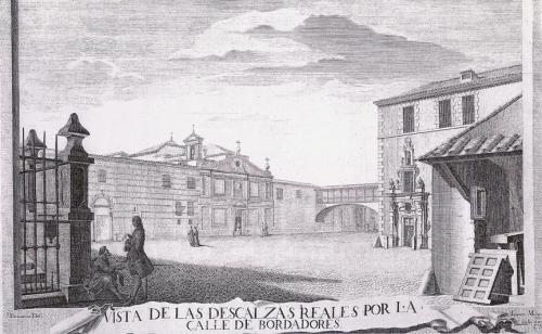 """Монастырь """"Королевскиx Босоножек Monasterio de las Descalzas Reales"""" в средние века"""