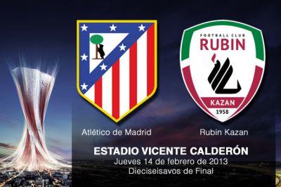 Атлетко Мадрид Atlético de Madrid Испания  - Рубин Казань Rubin Kazan  Россия Билеты на футбол