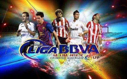 Расписание матчей Лиги BBVA сезон 2012 – 2013 годы. 2 – й круг календарь испанской футбольной лиги BBVA, туры 30 - 38 . Билеты на футбол в Испании