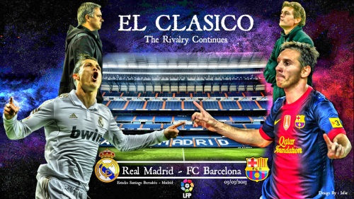 26-й тур Чемпионат Испании по футболу Лига BBVA  сезон 2012-2013. Эль Классико El Clásico Реал Мадрид Real Madrid - ФК Барселона FC Barcelona Голы Видео Счет