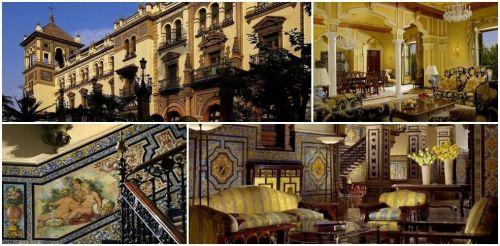 Отель  5*  звезд Альфонсо XIII в Севилье  Hotel Alfonso XIII Sevilla 5*