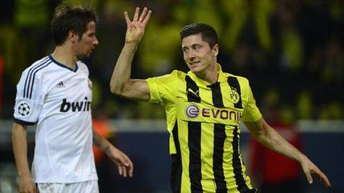 Боруссия Дортмунд Германия - Реал Мадрид Испания , Дортмунд Германия , стадион Signal Iduna Park, Dortmund Голы Видео Счет 4-1