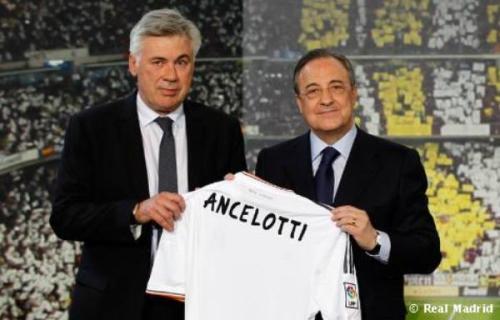 Новый главный тренер Мадридского Реала Карло Анчелотти Carlo Ancelotti