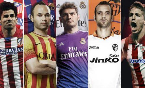 Расписание матчей сезон 2013 – 2014 годы. 1- й круг календарь испанской футбольной лиги BBVA, туры 11-19. Билеты на футбол