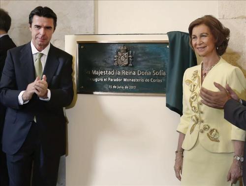 Открытие нового отеля Парадор Parador, Монастырь Кориас Monasterio de Corias