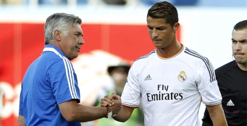 Главный тренер Реал Мадрид сезон 2013-2014 Карло Анчелотти Carlo Ancelotti