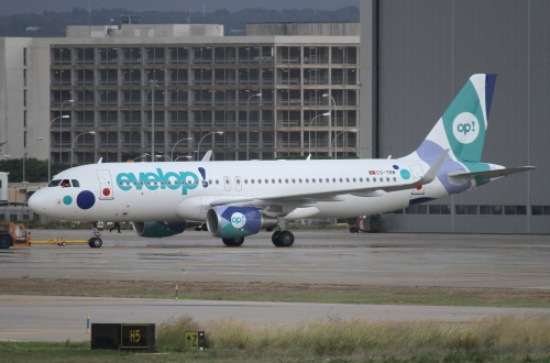 """Новости туризма в Испании - Испанская Компания """"Групо Барсело Grupo Barceló"""" основала свою авиакомпанию """"Эвелоп Evelop"""""""