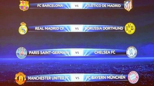 Расписание 1/4 финала Лиги Чемпионов Сhampions League сезон 2013-2014. Календарь Реал Мадрид . Билеты на футбол